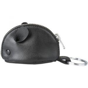 Kesslord Minimouse K'Rock - Porte-clé/porte-monnaie en cuir - noir
