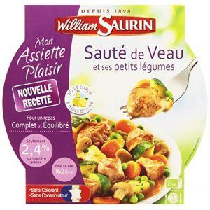 William Saurin Saute de veau et ses petits legumes, jus citron et huile olive
