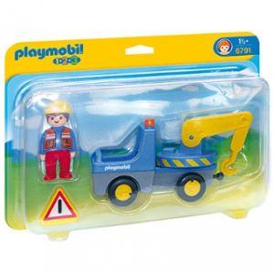 Playmobil 6791 - 1.2.3 : Véhicule de dépannage