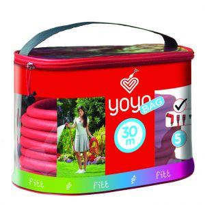 Tuyau extensible Yoyo coloris rouge 30 m