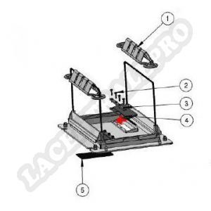Procopi 1012022 - Clapet de porte filtre 1 sac de Patriote