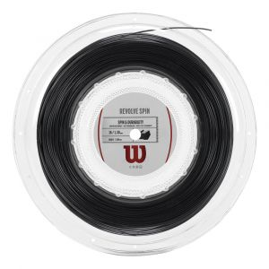 Wilson Ficelle Revolve Spin 200 M - Black - Taille 1.25 mm