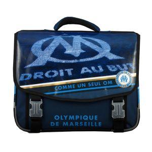 Cartable Olympique de Marseille 41 cm CE2/Collège Bleu