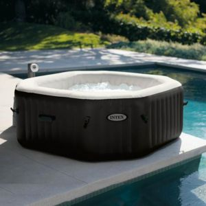 Intex Spa Gonflable PureSpa HWS 8000 DeLuxe Jets et Bulles 4 places Octogonal