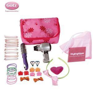 Gotz Set coiffure, accessoires et DVD