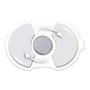 Sanitas SEM 05R - Recharge pour Mini Pad Tens (1 pile + 2 gels autocollants)