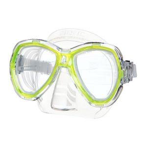 Seacsub SEAC Masque de Plongée Elba - Adulte - Jaune