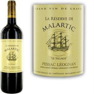 La Réserve de Malartic 2011 - Vin rouge de Bordeaux (AOC Pessac-Léognan)
