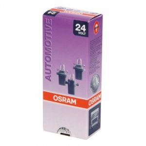Osram 2741MF - Ampoule camion type MiniWatt Blanche 24 Volts 1,2 watts