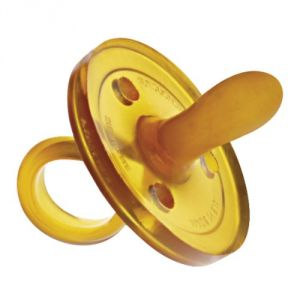 Goldi Sauger 10089 - Sucette bout oval en caoutchouc naturel (0-6 mois)
