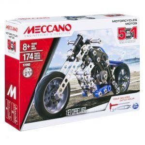 Meccano 6036044 - Moto 5 modèles