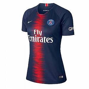 Nike Maillot de football 2018/19 Paris Saint-Germain Stadium Home pour Femme - Bleu - Taille XS