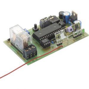 H-Tronic Module récepteur 1 canal 433 MHz kit monté alim