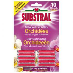 Substral Bâtonnets nutritifs orchidées x 10