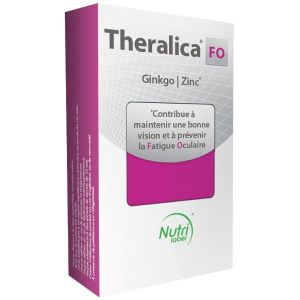 Théragreen Theralica FO fatigue oculaire 30 gélules + 30 capsules