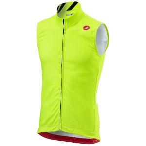 Castelli Thermal Pro - Gilet cyclisme Homme - jaune M Gilets
