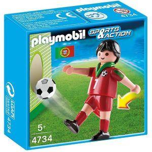 Playmobil 4734 - Joueur équipe Portugal