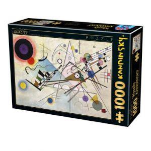 Dtoys Puzzle 1000 Pièces Vassily Kandinsky - Composition 8