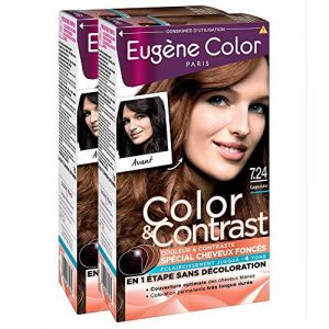 Eugène Color Color & Contrast 7.24 Cappuccino - Coloration permanente