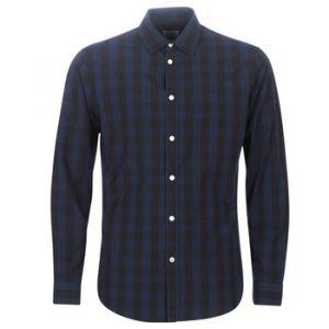 Jack & Jones NOS Jjegingham Shirt L/s Noos Chemise Casual, Multicolore (Dark Navy Checks: Mixed Black), Medium Homme