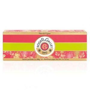 Roger & Gallet Fleur de Figuier - Savon parfumé - 3 x 100 g