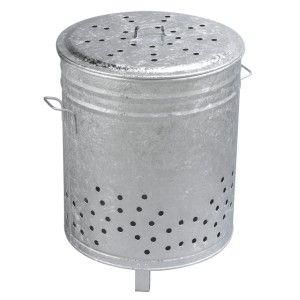 Guillouard Incinérateur galvanisé 110 litres