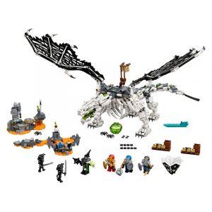 Lego NINJAGO Le dragon du Sorcier au Crâne - 71721, Jouets de construction