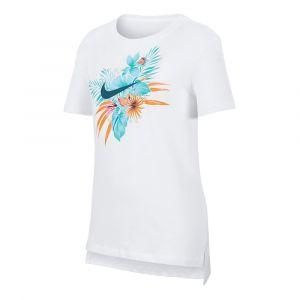 Nike Tee-shirt Sportswear pour Fille plus âgée - Blanc - Taille XS - Female