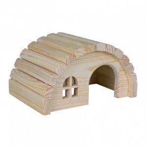 Trixie Maisonnette en bois pour hamsters/souris - 19 x 11 x 13 cm