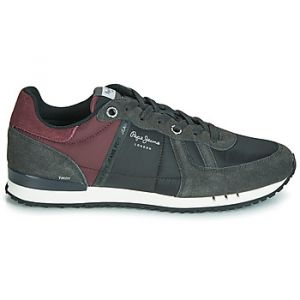 Pepe Jeans Baskets basses TINKER ZERO HALF 19 Gris - Taille 40,41,42,43,44,45
