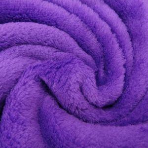 Craftine Tissu Doudou uni Violet