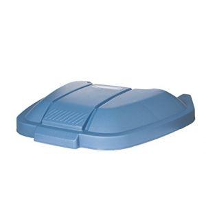 Rubbermaid Couvercle bleu pour tri sélectif
