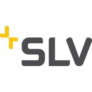 SLV DELWA WIDE LED, applique extérieure, gris argent, LED 10W 3000K, 100°, - Gris argent