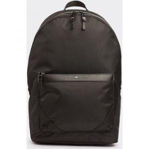 Tommy Hilfiger Elevated Nylon Backpack, Sacs portés épaule homme, Noir (Black),