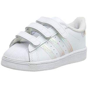 Adidas Chaussures casual Superstar CF I Originals Blanc - Taille 24