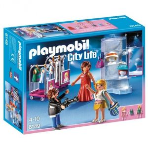 Playmobil 6149 City Life - Top modèles avec photographe