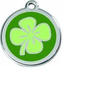 RedDingo Médaille personnalisable motif Trèfle