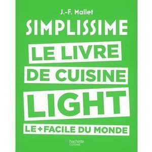 Hachette Livre de cuisine Light le + facile du Monde