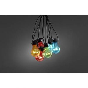 Konstsmide Guirlande lumineuse LED Multicolore 4,5 m