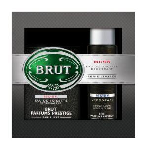 Fabergé Brut Musk - Coffret eau de toilette et déodorant
