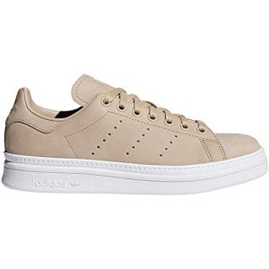 Adidas Chaussures Stan Smith New Bold Women - Couleur 36,38,40,36 2/3,38 2/3,40 2/3 - Taille Beige