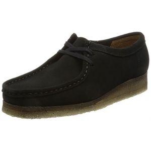 Clarks Originals Wallabee, Boots femme - Noir (Black), 37 EU (4 UK)