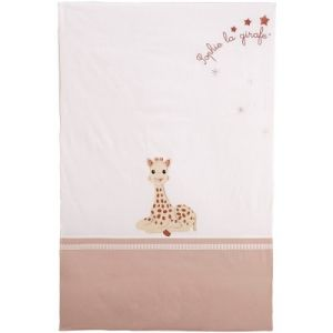 Babycalin Édredon couvre-lit Sophie la girafe (80 x 120 cm)