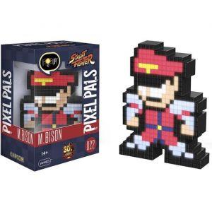 PDP Figurine Pixel Pals Light Up Capcom Street Fighter M. Bison
