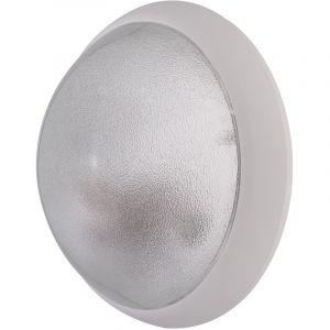 L'ébénoïd Hublot extérieur Ø 300mm anneau blanc diffuseur verre clair pour lampe B22 (non incl) CL2 IK04 IP44 OPTION EBENOID 078821