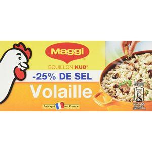 Maggi Bouillon KUB Volaille Sel Réduit (12 tablettes) 120g