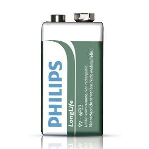 Philips Pile bloc 9V Longlife