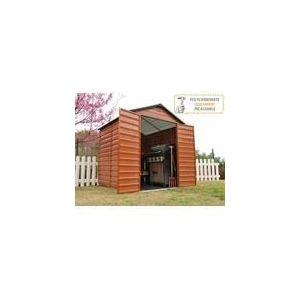 Viva Green Abri de jardin en PVC avec toit translucide 3,78 m2