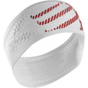 Compressport Headband On/Off White
