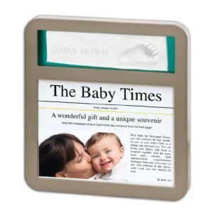 Baby Art Cadre photo Modern News Print Frame avec empreinte